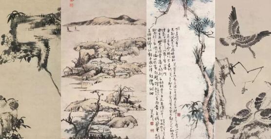 明末清初四位出家为僧的画家 他们的画对后世的影响深远
