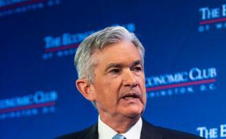 """鲍威尔表示美联储正在""""等待和观察"""" 对利率有耐心"""