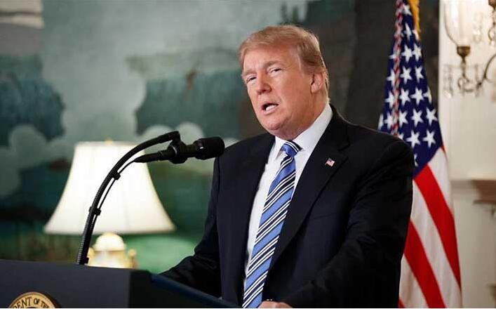 """指责德国""""拖欠""""北约费用 特朗普称将减员驻德美军至2.5万"""